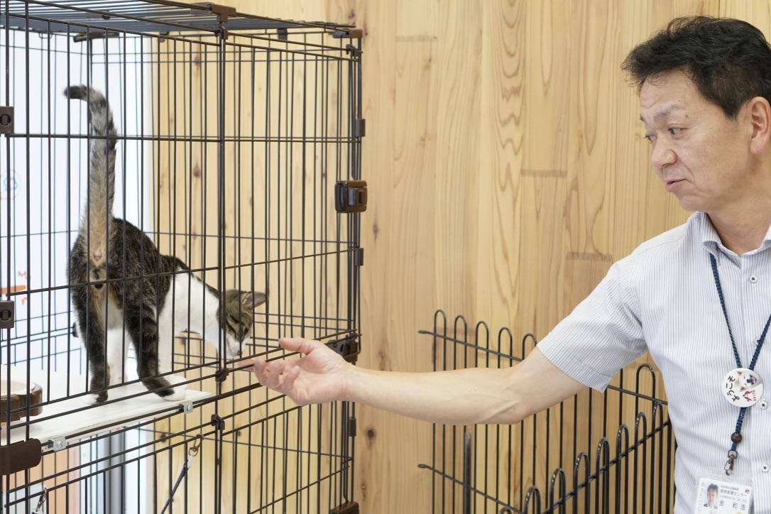 秋田県動物愛護センター(ワンニャピアあきた)所長 金和浩さん